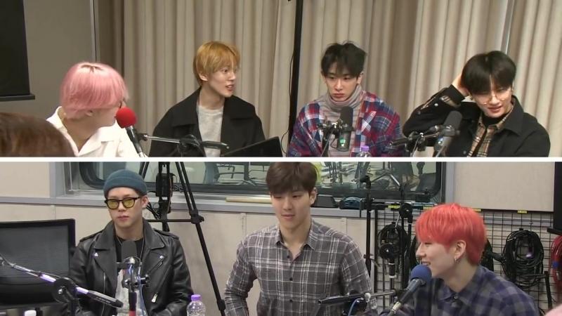 [VK][180328] MONSTA X full @ SBS Love FM Kim Sook Song Euni's Sister Radio