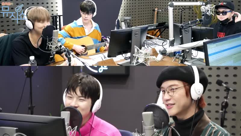 [21.03.19] KBS Cool FM «Moon Heejuns Music Show» @ N.Flying Charm collection