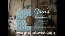 How to crochet a bag from quilt stich part 1/2- Hướng dẫn móc túi ứng dụng khóa DG gập phần 1/2