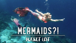 MERMAIDS FOUND IN INDONESIA - THE BUCKET LIST FAMILY