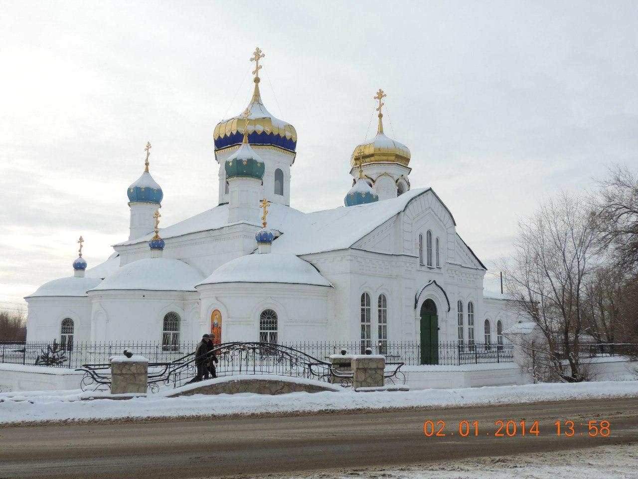 Церковь Александра Невского (09.01.2014)