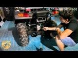 Техническое обслуживание квадроцикла  Stels 300B