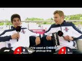 Williams Lance Stroll and Sergey Sirotkin _ Grill the Grid_ Truth or Lie