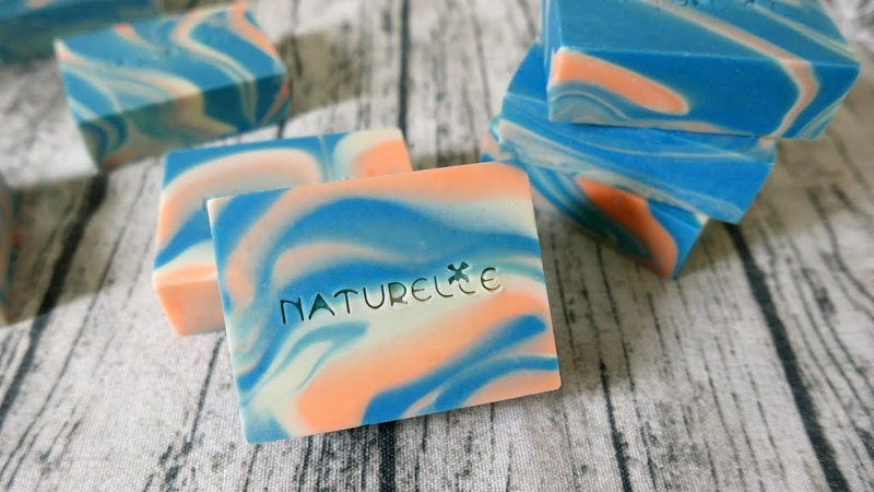 單模回鍋渲皂DIY - in the pot swirl handmade soap with individual molds - 手工皂