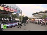 219 Десантник Валентин Табачный - LIVE_ Rally in support of Novorossiya held in Moscow (02.08.14)