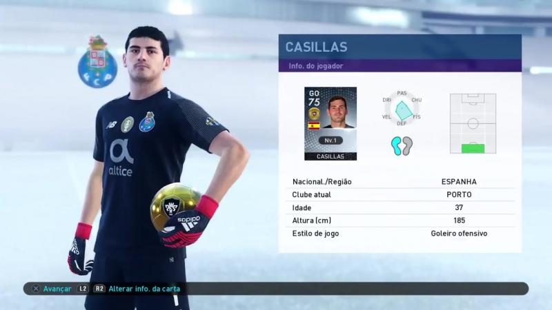 Икер Касильяс и его презентация в режиме MyClub 2019