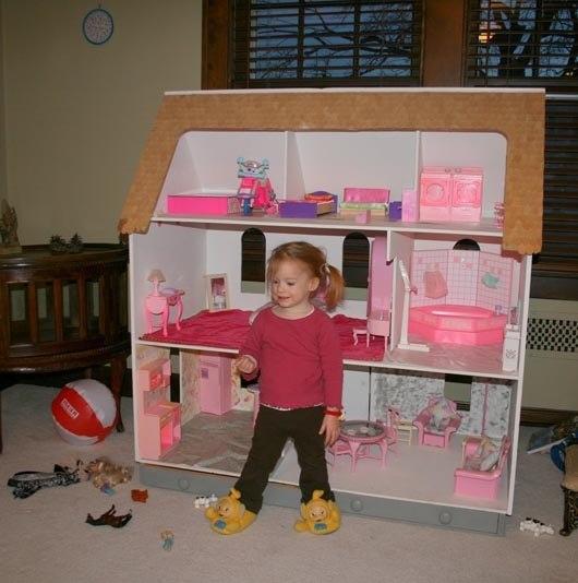 Дом для кукол своими руками фото для