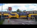 Spoorwegovergang Goes Dutch railroad crossing