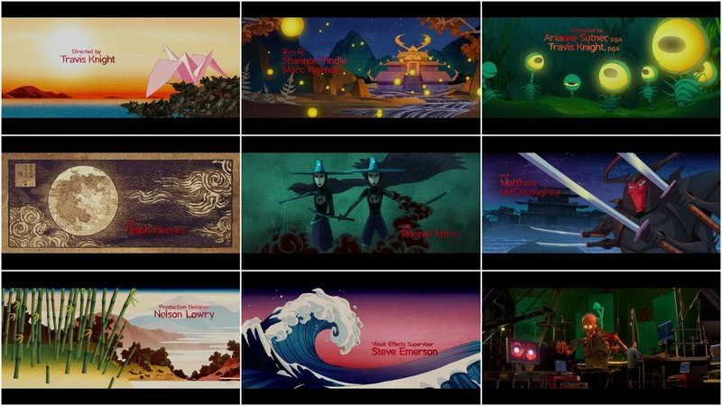 Kubo and the Two Strings (2016) – Closing Title Sequence