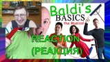 Реакция на BALDI'S BASICS THE MUSICAL (Live Action Original Song) Random Encounters
