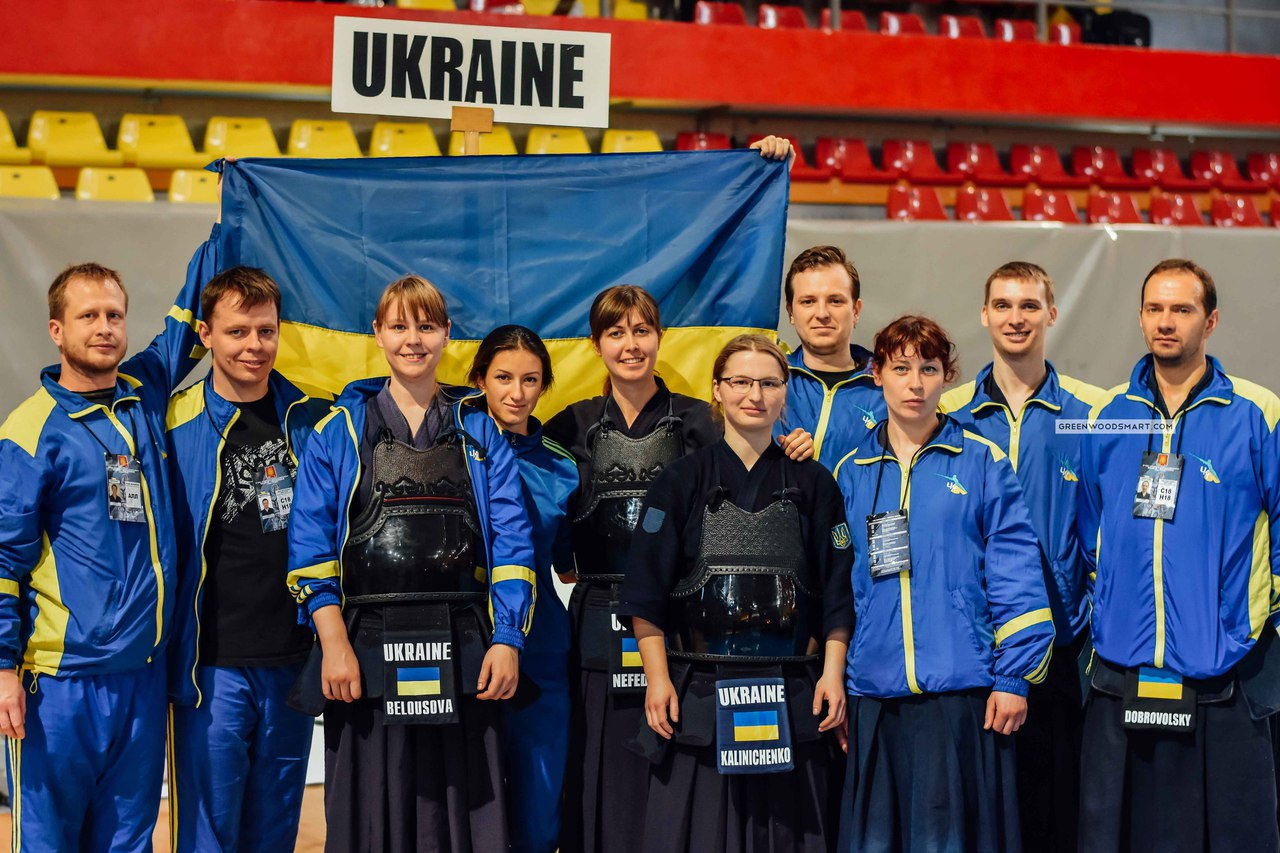Ukraine national kendo team