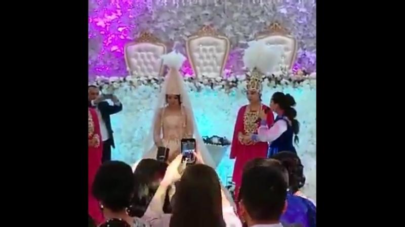Салтанат Бақаева жаңа туған баласын қырқынан шығармай жатып, тойға шығып кетті (видео)