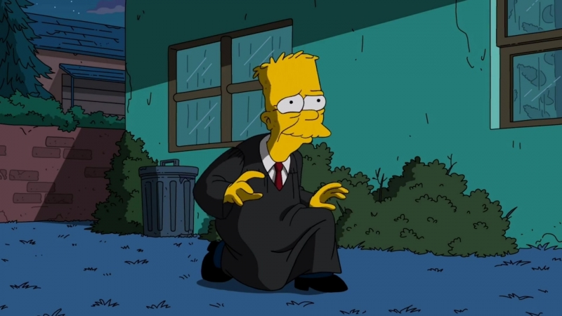 The Simpsons ending (S29E21)