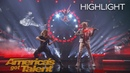 Brian King Joseph Duo Transcend and Lindsey Stirling Perform Epic Act America's Got Talent 2018