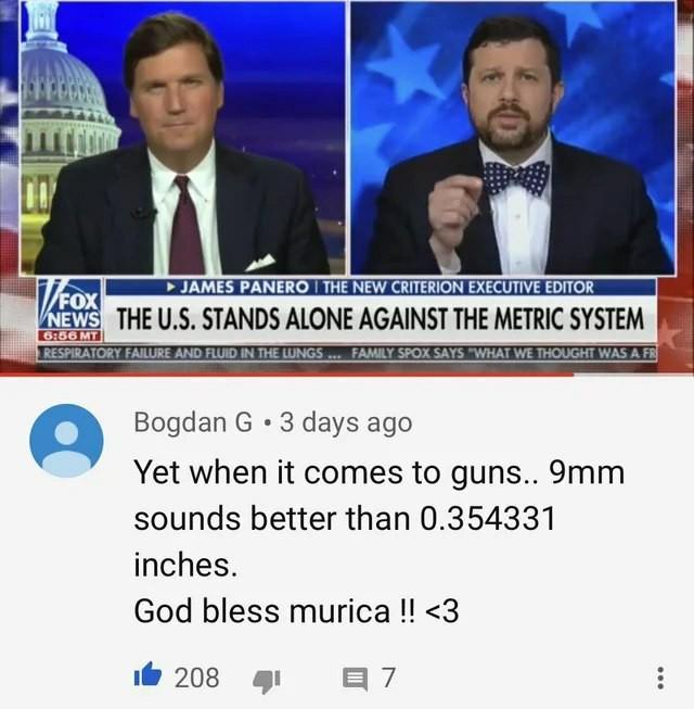 США против метрической системы
