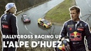 Driving The Famous 21 Bends of L'Alpe D'Huez With Kevin Hansen and Sebastien Loeb