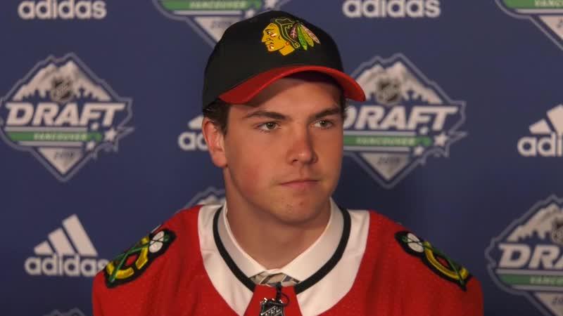 Интервью Михала Теплы драфт NHL 2019