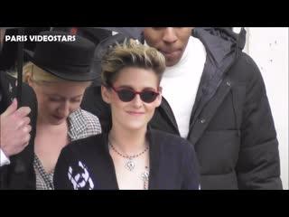 VIDEO Kristen STEWART attends Paris Fashion Week 5 march 2019 show Chanel