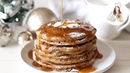 Gingerbread Pancakes Recipe | Christmas Recipes