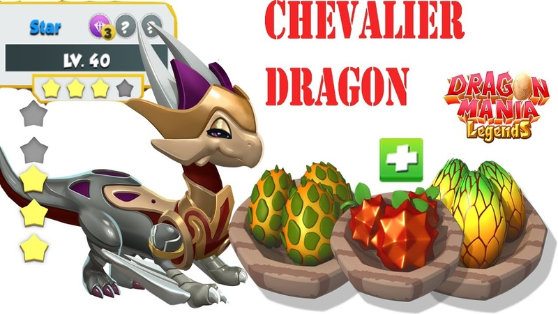 How much Food to Upgrade for level 40? , Upgrade Chevalier Dragon , Dragon Mania Legends | 1331 HD