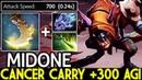 Midone [Slark] Cancer Carry 300 Agi Insane Gameplay 7.20 Dota 2
