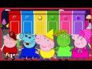 Свинка Пеппа на Русском языке смотреть новые серии 2017 учим цвета #6