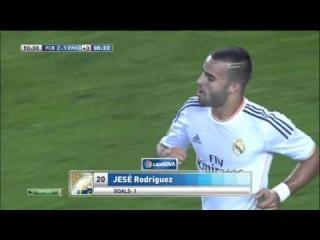 Барселона Реал Мадрид 2-1 гол Jesé (Криштиану Роналду)