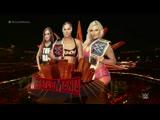 WRESTLEMANIA 35 Беки Линч ,Шарлотт Флер и Ронда Роузи в матче за титулы чемпионов SmackDown и Вселенной WWE(русская версия)