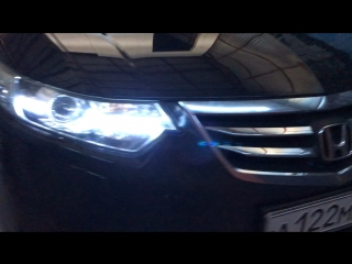 Honda Accord ✅Установка ходовых огней LX CRYSTAL DRL с
