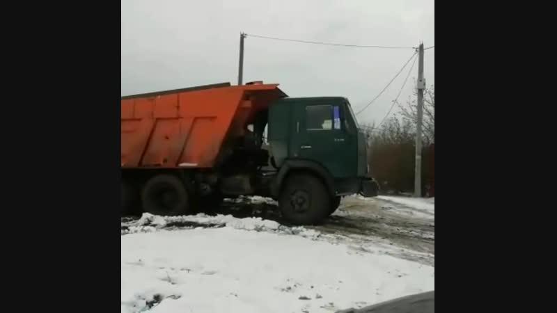 Как весело копать фундамент и вывозить грунт зимой