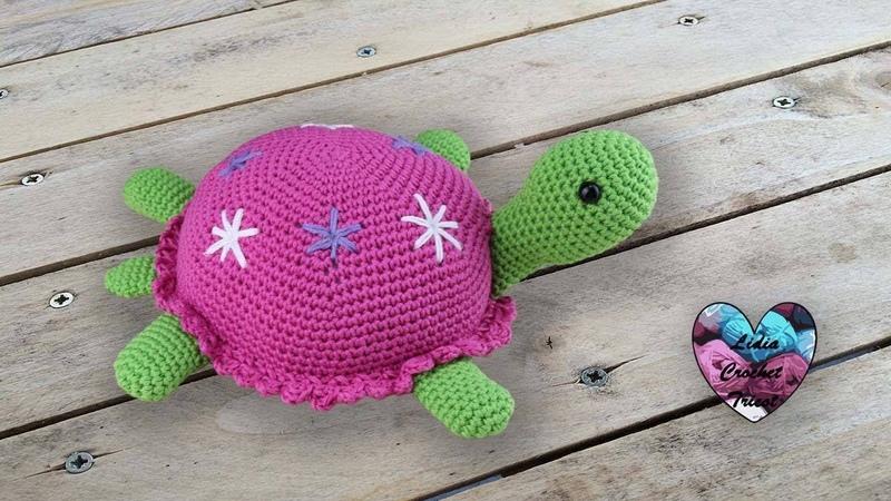 Tortue Amigurumi Crochet 🐢by Lidia Crochet Tricot