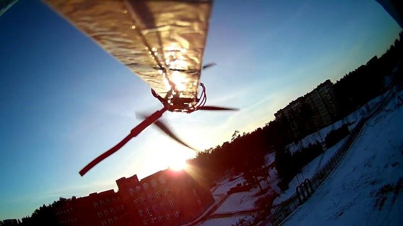 DIY large styrofoam glider with Eken H9R onboard - Maiden flight Part 1.