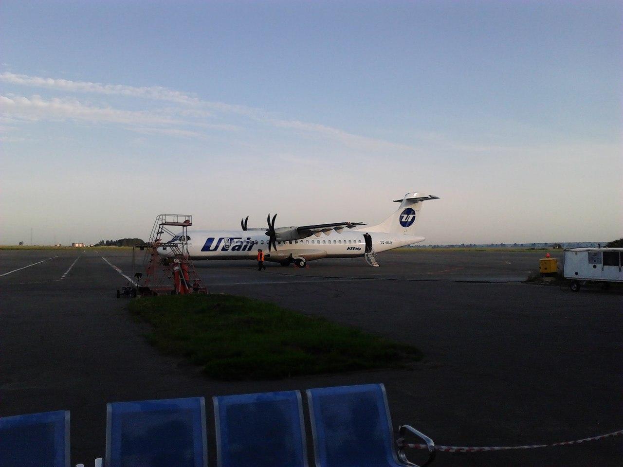 "ATR 72-500, ""ЮТэйр"""