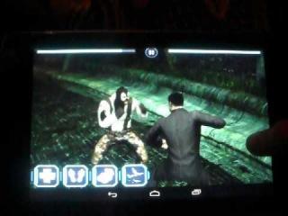 обзор игр на андроид #5 'супер файтинг batman archam city