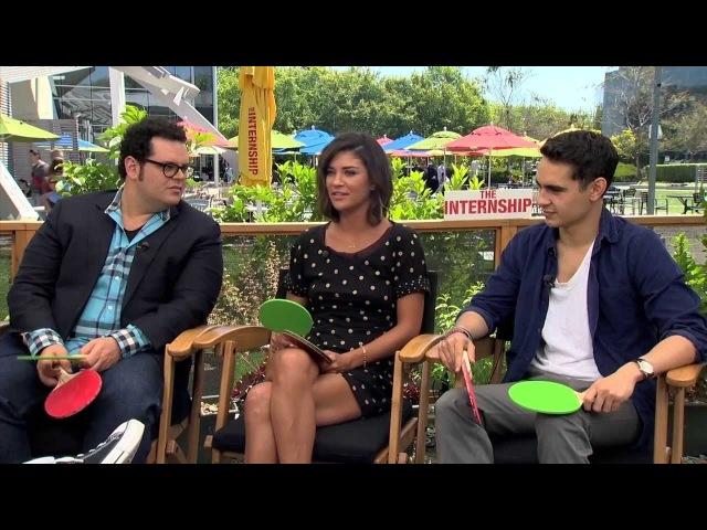 The Internship Interviews - Vaughn, Wilson, Jessica Szohr (Gossip Girl), Minghella, Josh Gad