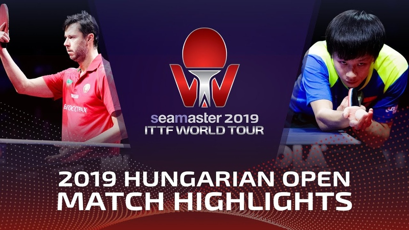 Lin Gaoyuan vs Vladimir Samsonov | 2019 ITTF World Tour Hungarian Open Highlights (14)