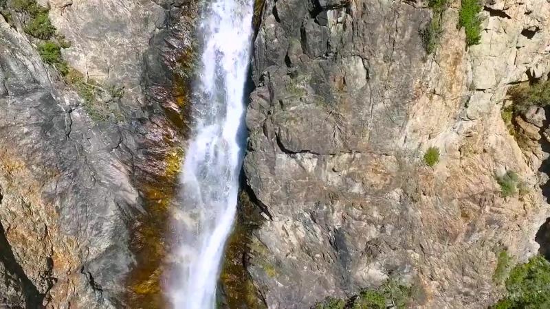 Самый высокий водопад в Центральной Азии. Бурхан Булак. Коринское Ущелье.mp4