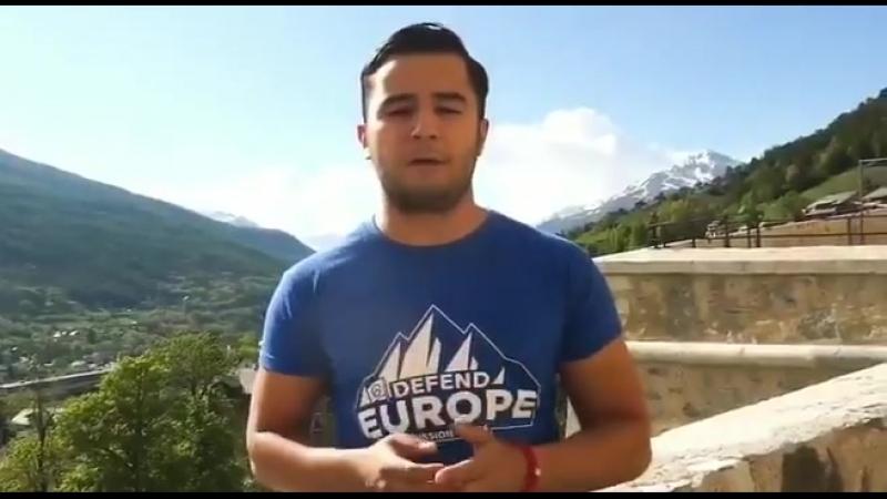 Message de Génération Identitaire, Defend Europe: La mairie de Briançon et sa MJC sont complices de l'immigration illégale