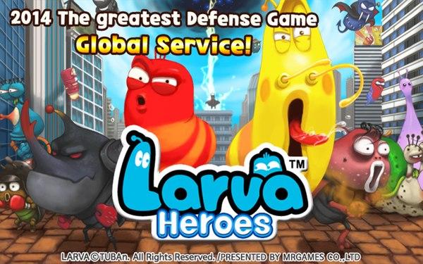 Скачать Larva Heroes: Lavengers 2014 для android