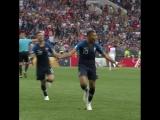 4-й гол сборной Франции в ворота хорватов!