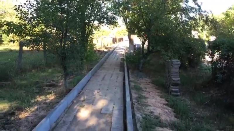 Ремонт тротуаров в пгт Гвардейское (Симферопольский район)