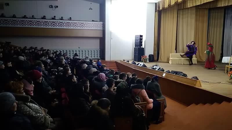 Замечательная постановка воспитанников и выпускников воскресной школы Михайло-Архангельского храма.3