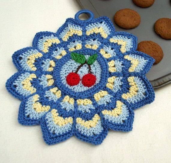 Delicadezas en crochet gabriela: tu cocina necesita una de estas ...