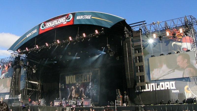 Volbeat - Seal The Deal (Download Festival, Paris, France / 18.06.2018)