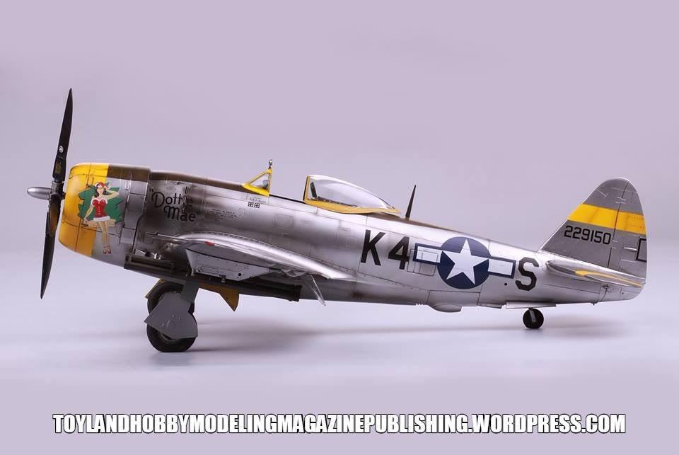 Eagle Cal 1//32 Republic P-47D Thunderbolt Pt 3 # 32106