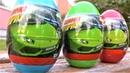 Транспорт для детей гоночные Машинки в яйце видео про игрушечные машинки для детей