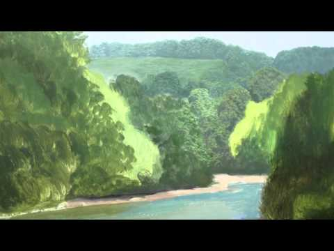 How To Paint Trees In The Distance   Oil Painting Tutorial