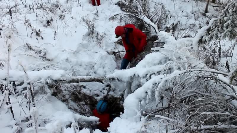 экспедиция СГС на север Свердловской области январь 2018 п Ветровая Почтовая