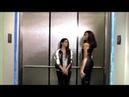 IISuperwomanII Три девушки в лифте (Зендая и Винни Харлоу) русская озвучка