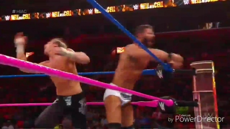 WM Bobby Roode vs Dolph Ziggler Hell In A Cell 2017 Highlights